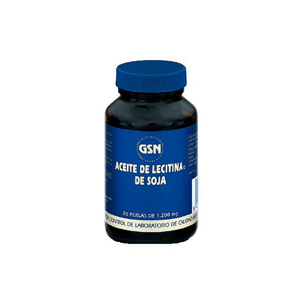 Aceite de Lecitina de Soja - 80 Softgels [GSN]