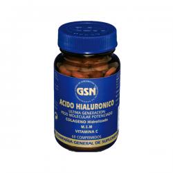 Ácido Hialurónico - 60 Tabletas [GSN]