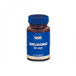 Isoflavonas de Soja - 80 Tabletas [GSN]