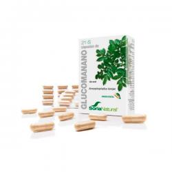 21-s glucomanano - 60 capsules