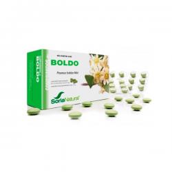 Boldo 600mg - 60 Tabletas [Soria Natural]