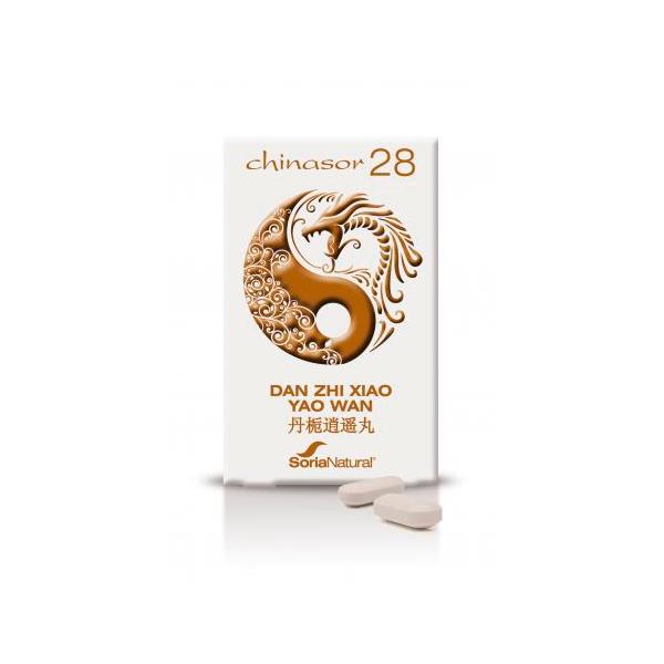 Chinasor 28 Dan Zhi Xiao Yao Wan - 30 Tabletas [Soria Natural]