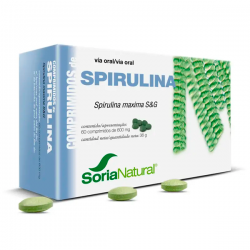 Espirulina - 60 Tabletas [Soria Natural]