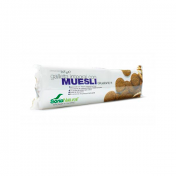 Galleta Integral con Muesli - 165g [Soria Natural]