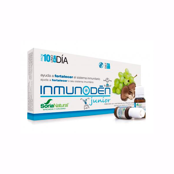 Inmunoden Junior - 10 Viales [Soria Natural]