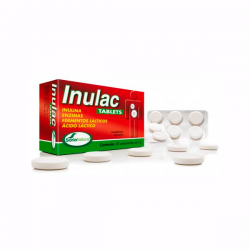 Inulac - 30 Tabletas [Soria Natural]