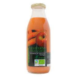 Licuado de Zanahoria Y Manzana - 500ml [Soria Natural]