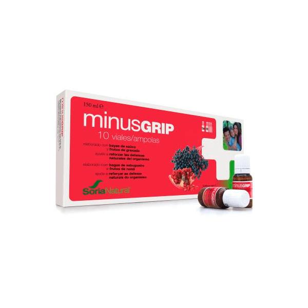 Minusgrip - 10 Viales [Soria Natural]