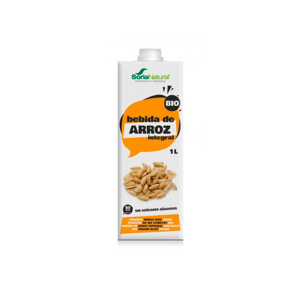 Bebida de Arroz Integral - Pack 3x1L [Soria Natural]