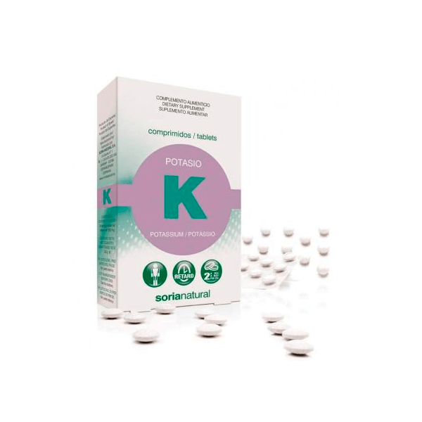 Potasio - 20 Tabletas [Soria Natural]
