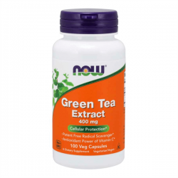 Extracto de Té Verde 400mg - 100 Cápsulas