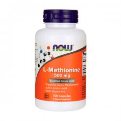 L Methionine 500mg - 100 caps