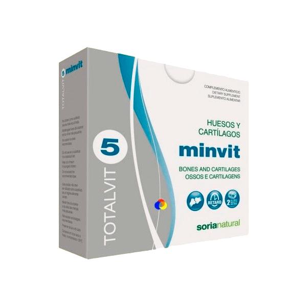 Totalvit 5 Minvit - 60 Tabletas [Soria Natural]