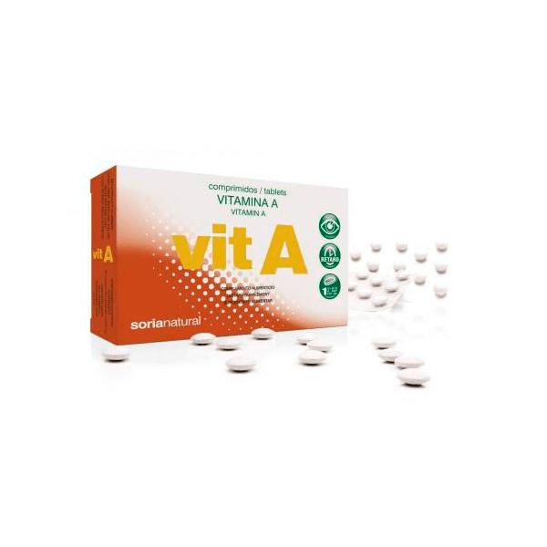 Vitamina A - 48 Tabletas [Soria Natural]