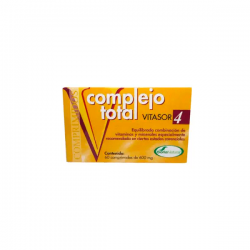 Complejo Total Vitasor 4 - 60 Tabletas [Soria Natural]