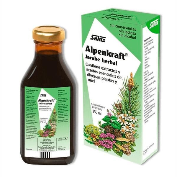 Alpenkraft Jarabe Herbal - 250g [Salus]