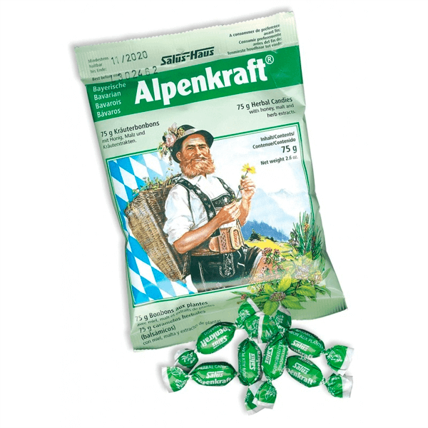 Caramelos Alpenkraft - 75g [Salus]