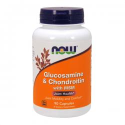 Glucosamina e Condroitina con MSM - 90 cápsulas
