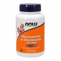 Glucosamina y Condroitina con MSM - 90 cápsulas