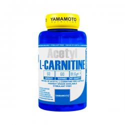 Acetyl L-Carnitina 1000mg - 60 Cápsulas [Yamamoto Nutrition]