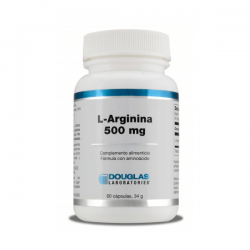 L-Arginina 500mg - 60 Cápsulas [Douglas]