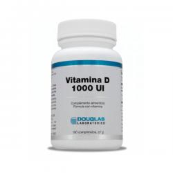 Vitamina D3 1000 IU - 100 Tabletas [Douglas]