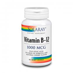 Vitamina B12 1000mcg - 90 Tabletas Masticables