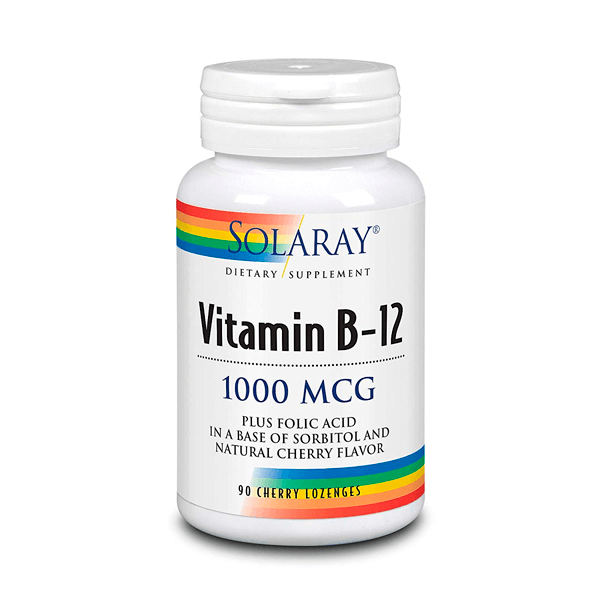 Vitamina B12 1000mcg - 90 Tabletas Masticables