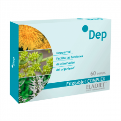 Dep Fitotablets Complex - 60 Tabletas [Eladiet]