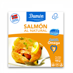 Salmón al Natural - 160g [Grupo Dumon]