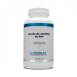 Aceite de Semillas de Lino - 100 Softgels