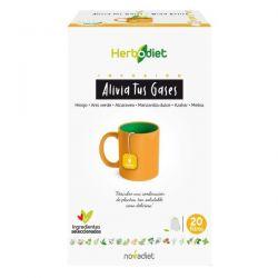 Herbodiet Alivia Tus Gases - 20 Filtros