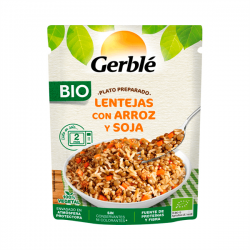 Prepared lentil dish with rice and soy - 250g