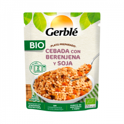 Prepared barley dish with eggplant and soy - 250g
