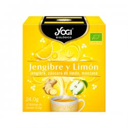 Jengibre y Limón - 12 Bolsitas