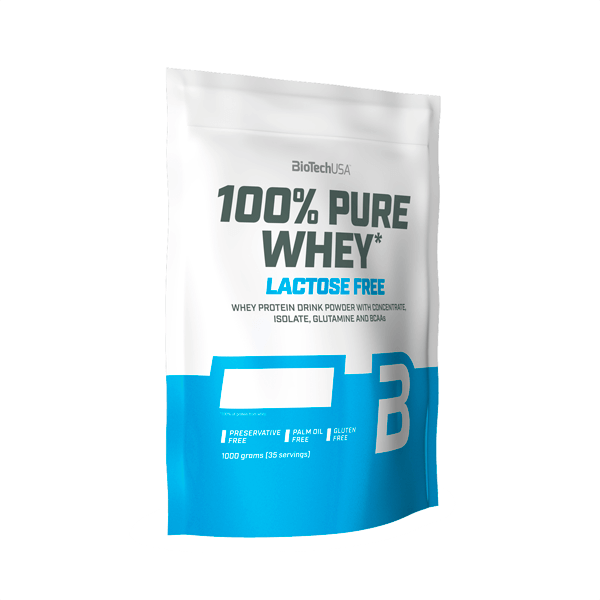 100% Pure Whey sin Lactosa - 1000 gr