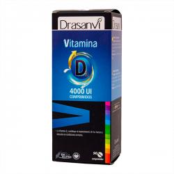 Vitamina D3 4000UI - 90 Tabletas