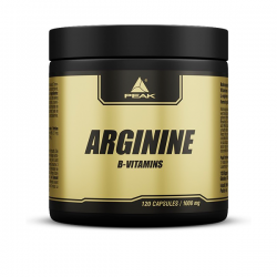 Arginine - 120 cápsulas