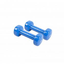 Vinyl coated aerobic weights - 2 units