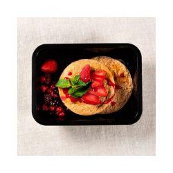 Tortitas de avena con Frutos Rojos