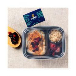Yogur Griego 0% con Frutos Rojos y Avena