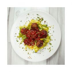 Albóndigas Heura 100% Vegetal con Zucchinis de Calabacín