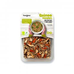 Plato de Quinoa Tricolor con Shiitake y Avellanas - 250g