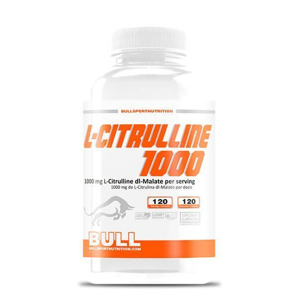 L-Citrulina 1000 - 120 Cápsulas