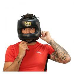 Fullboxing leather helmet