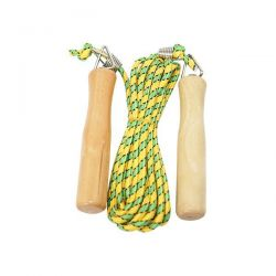 Deluxe polyester skipping rope