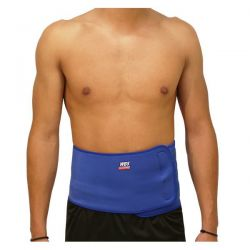 Neoprene lumbar belt without protections