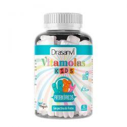 Vitamolas Probióticos Niños - 60 Gominolas [Drasanvi]