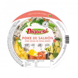Poke de Salmón con Salsa Soja - 225g [Diquesi]