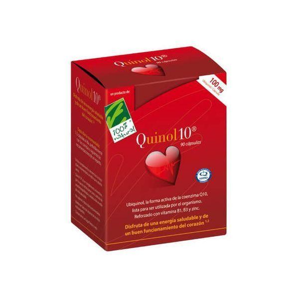Quinol10 100mg - 30 Cápsulas